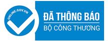 Đã khai báo thông tin website Học Bằng Lái Xe B2 Trường dạy lái xe Đại Phúc cho Bộ Công Thương
